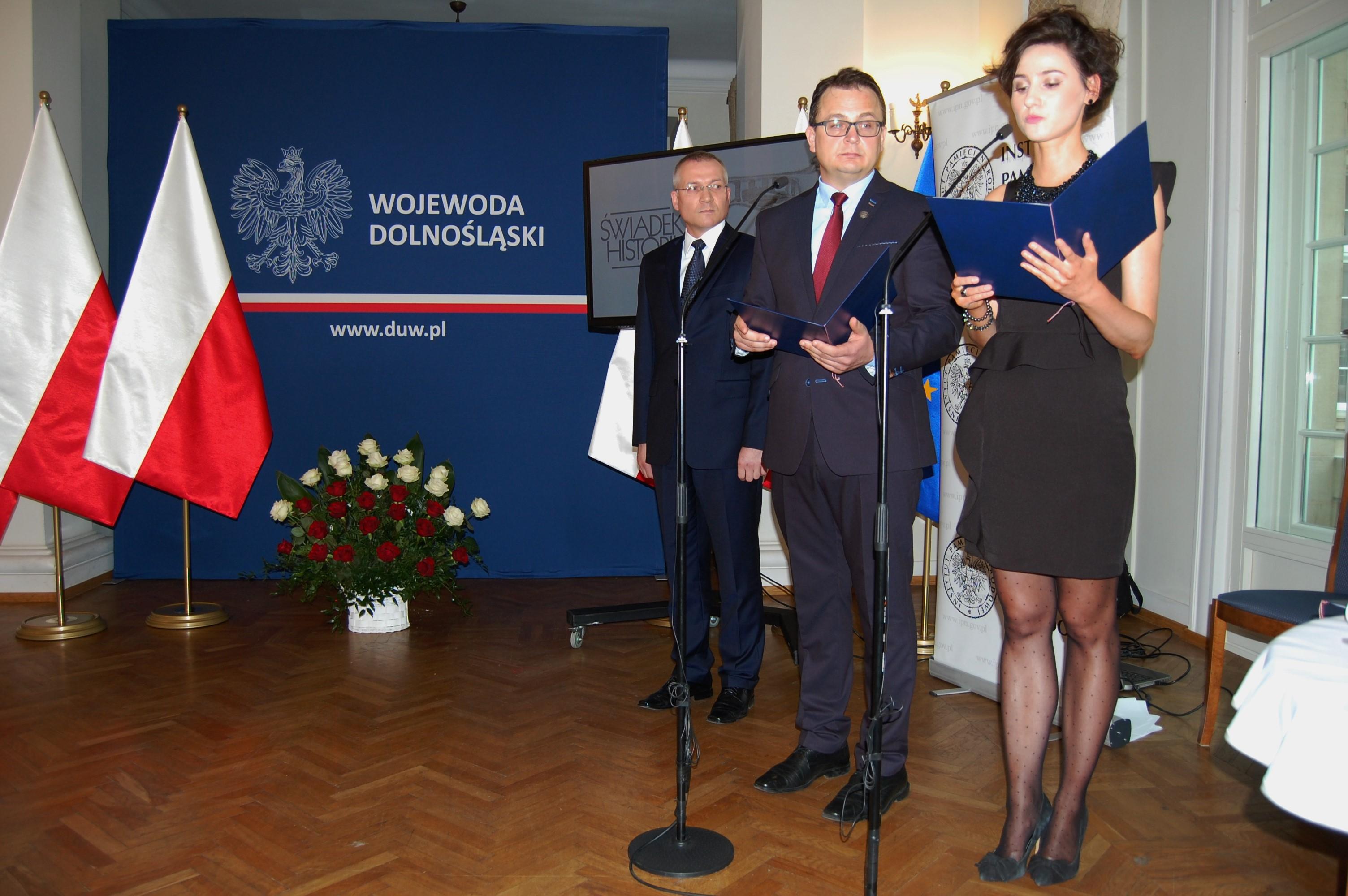 87d0fd63677aa Uroczyste wręczenie pamiątkowych replik Krzyża Obrony Lwowa ...